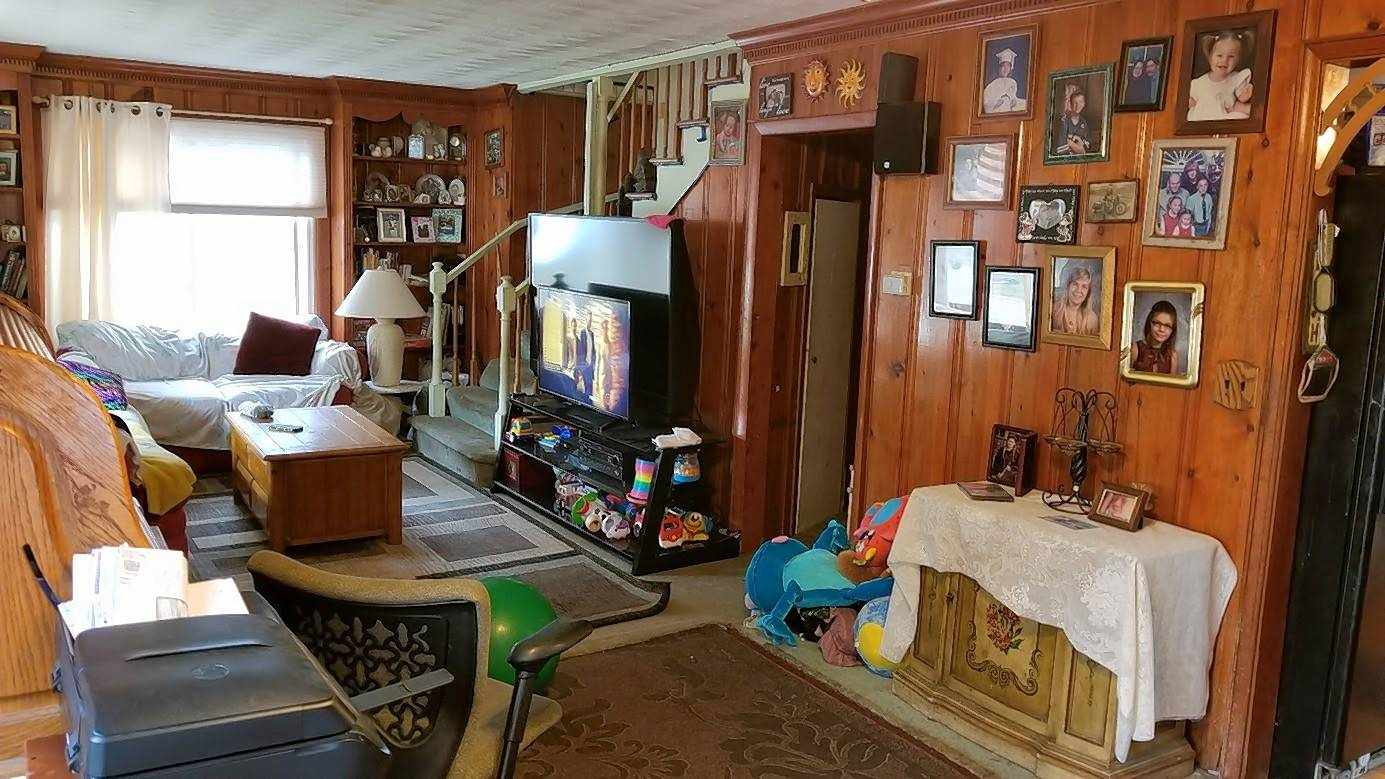 Amy Walters of Round Lake wrote that her old living room was full of toys and needed some storage solutions.