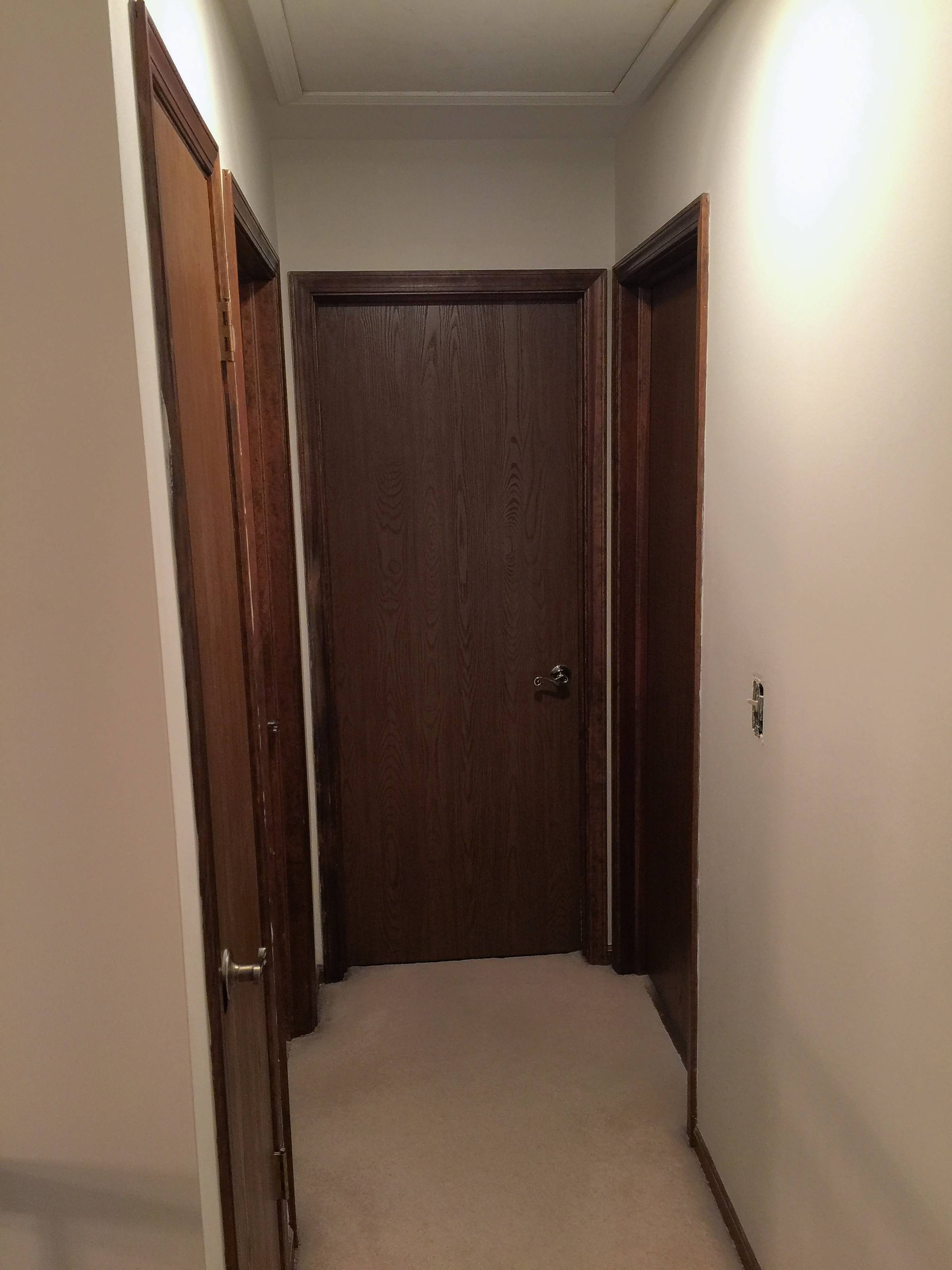 Jenna Kilday of Geneva says wrote that her upstairs hallway was too dark and looked outdated with its flat doors.
