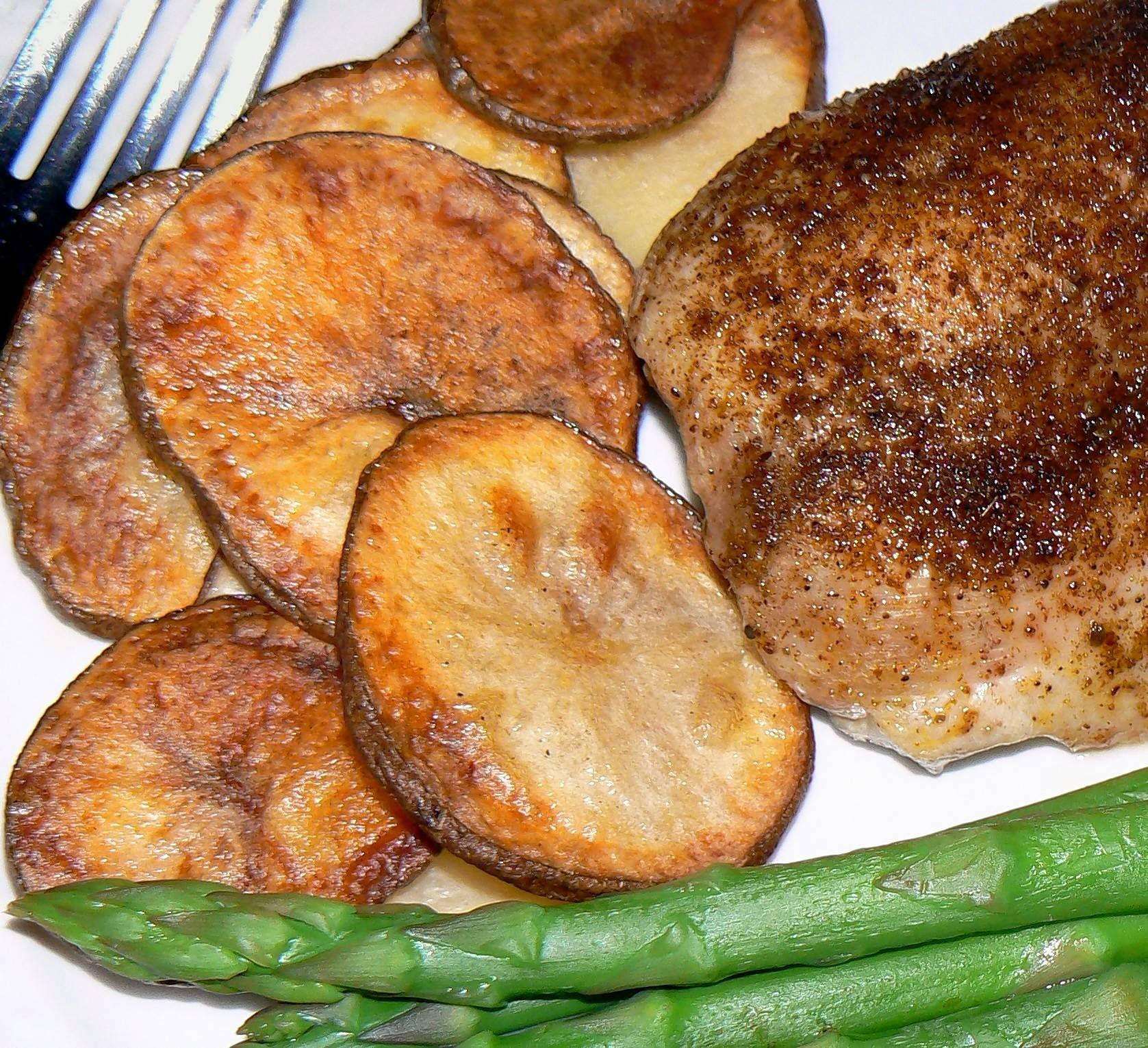 Oven-Fried Potatoes with Beef Tallow