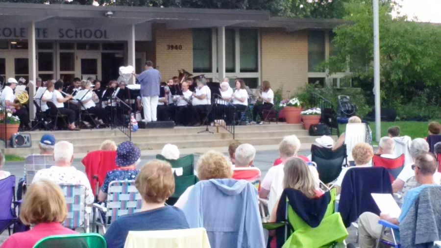 The Northwest Concert Band at a summer concert in 2017.Jeanne Johnson