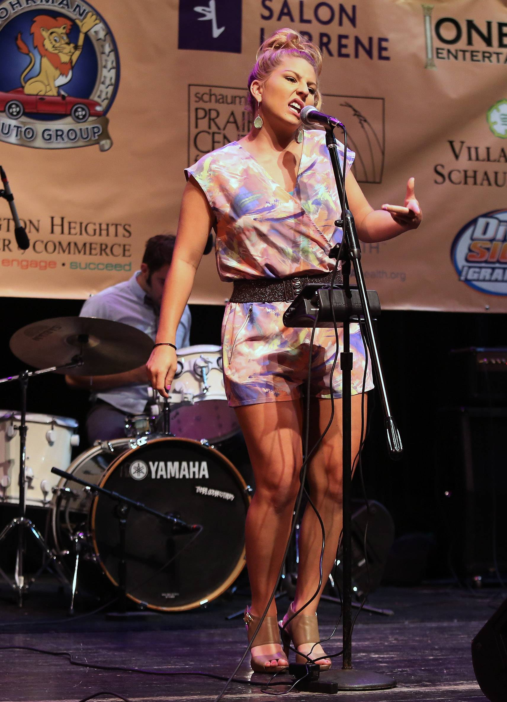 Laura Burke, formerly of Arlington Heights, was a 2015 co-winner of Suburban Chicago's Got Talent with Ryan Cooper of Schaumburg. She now regularly performs with Mike Zabrin's band Funktastic.