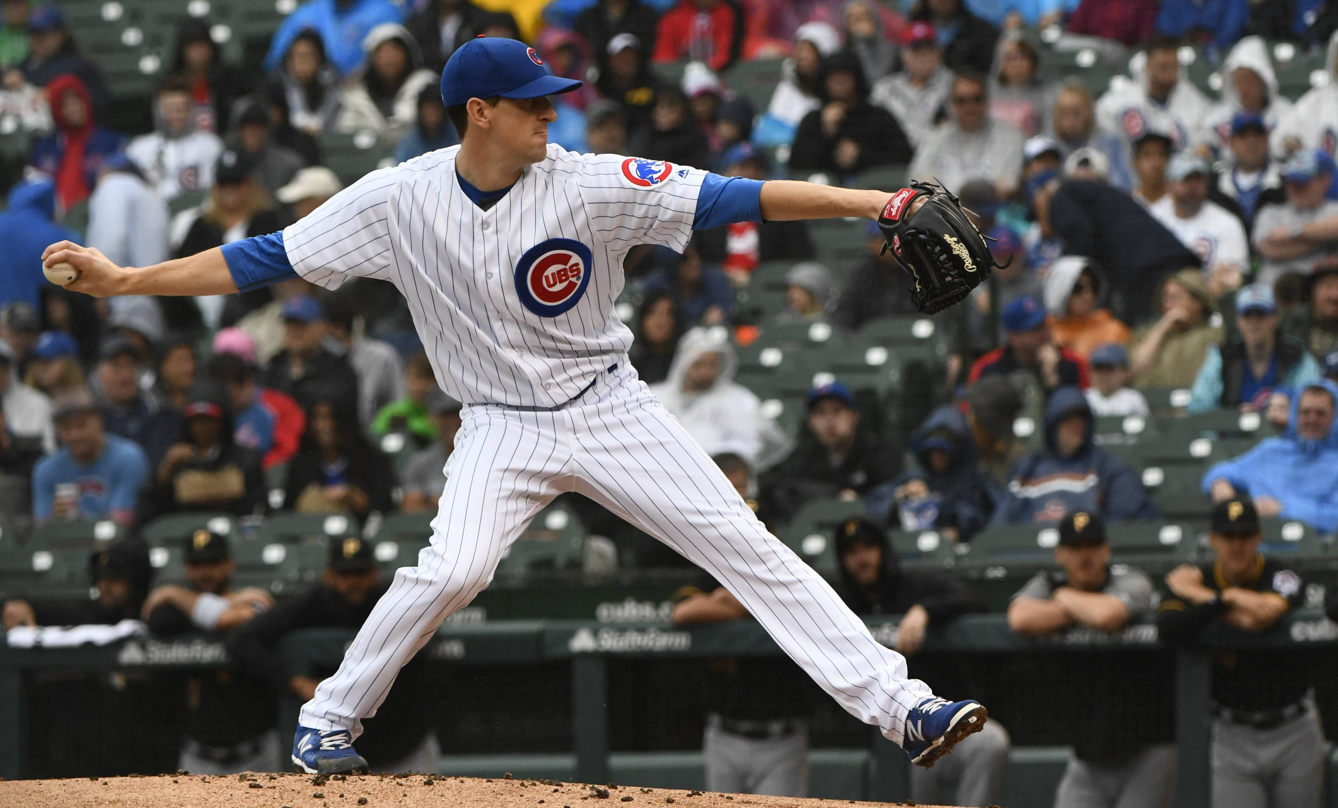 Maddon stands behind decision to pinch hit La Stella for Hendricks