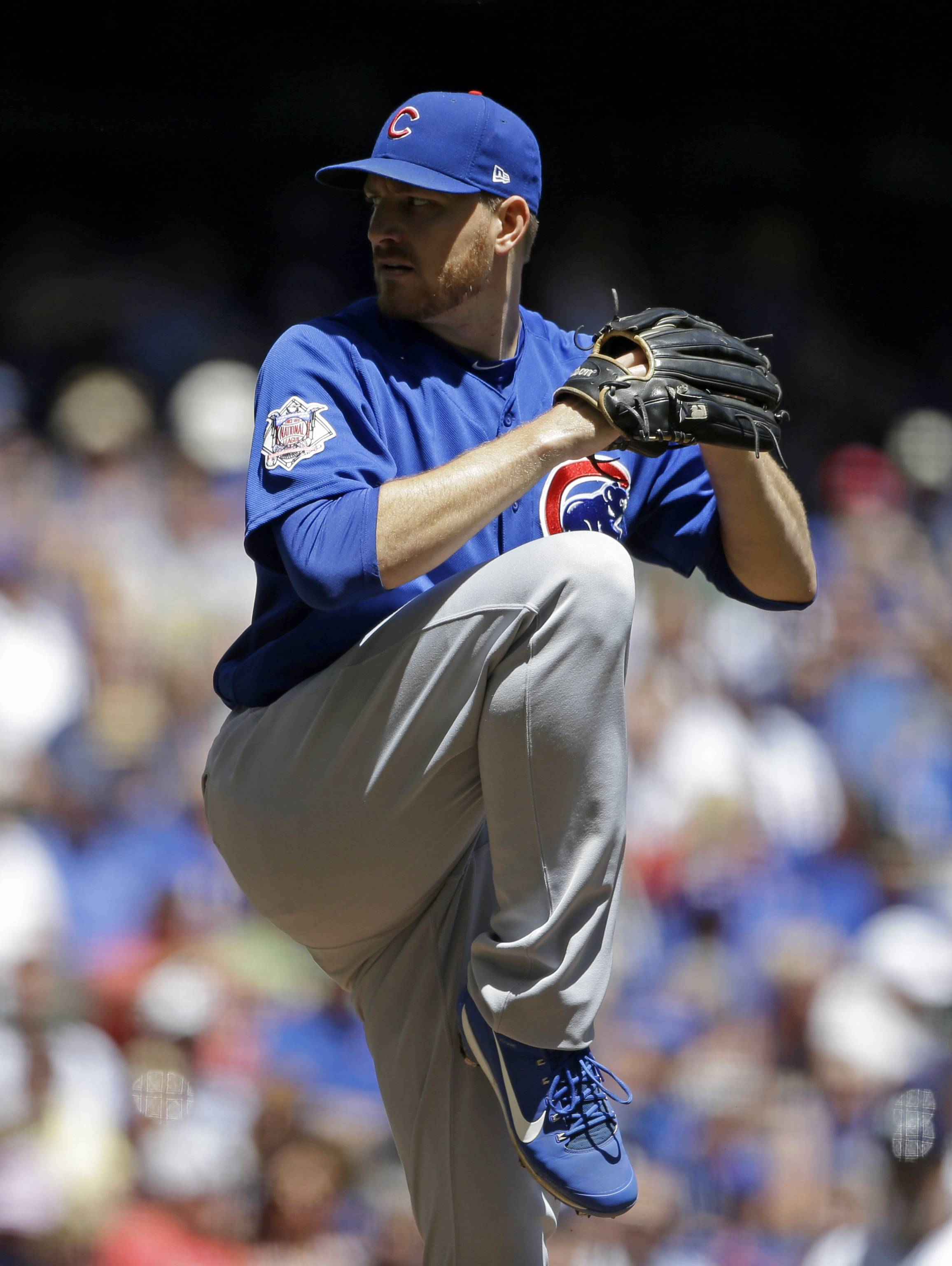 In 4 starts for the Chicago Cubs, Mike Montgomery has recorded an ERA of 1.14. He had another strong outing on Wednesday in a 1-0 loss to the Milwaukee Brewers.