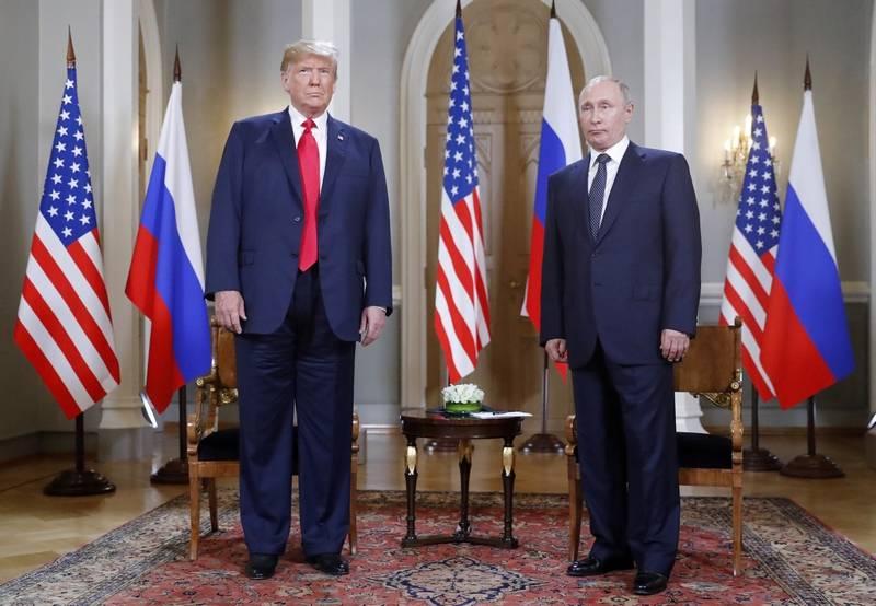 Trump Calls EU 'a Foe' Ahead of Putin Meeting
