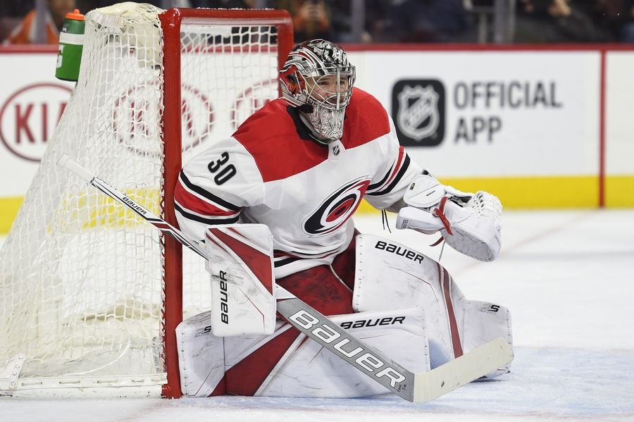 New Chicago Blackhawks goalie Cam Ward said he's excited to play in front of such an energetic fan base. Before signing a 1-year deal with the Hawks, Ward spent 13 seasons with Carolina.