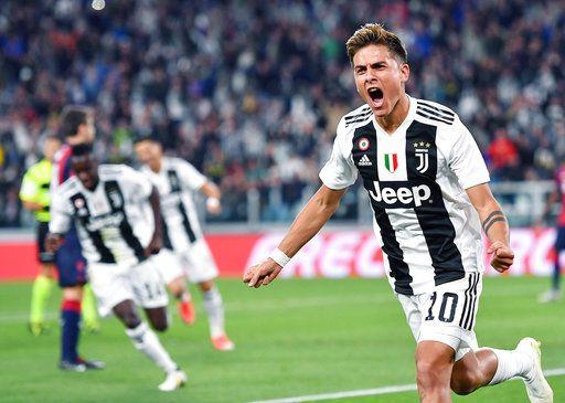 61a73837d86 Dybala breaks drought to help Juventus beat Bologna 2-0
