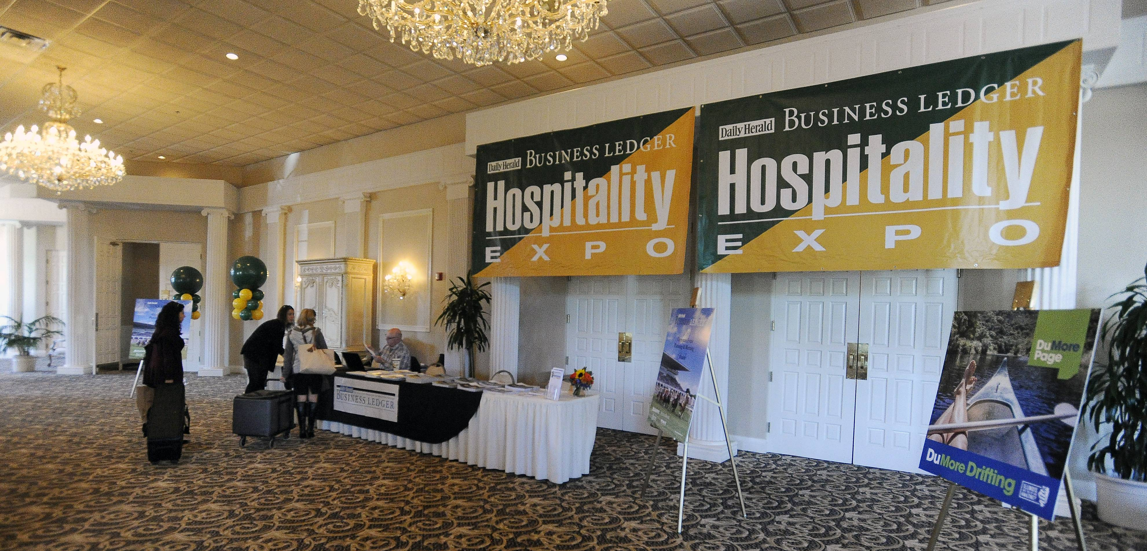 More than 80 vendors took part in the Daily Herald Business Ledger's DuPage Hospitality Expo at Abbington Distinctive Banquets in Glen Ellyn.