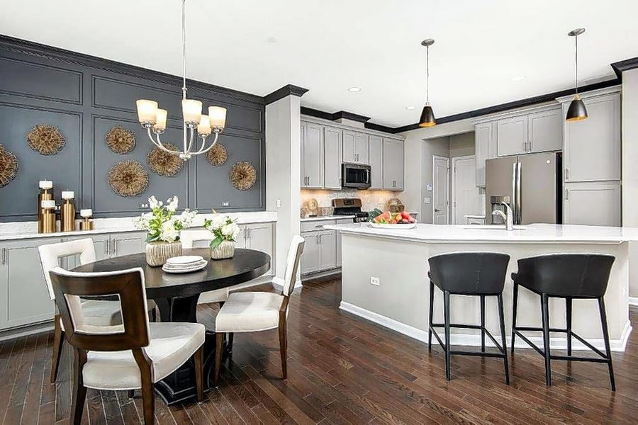 Model homes out front in current design trends