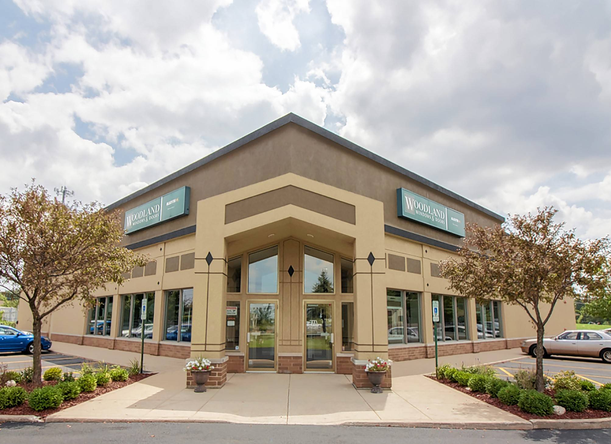 Woodland Windows and Doors is celebrating its 50th anniversary this year. The company opened a new, larger showroom in Roselle in the 1990s.