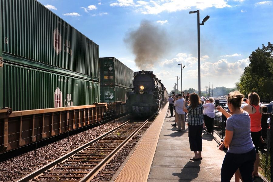 Union Pacific: 45K people visited world's largest steam