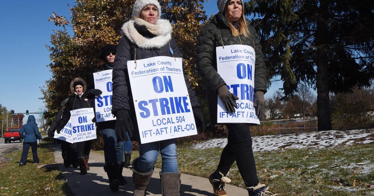 Grayslake District 46 strike to end