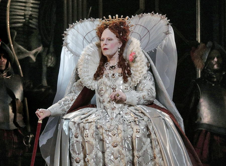 "Former St. Charles resident Sondra Radvanovsky starred as Queen Elizabeth I in Donizetti's ""Roberto Devereux"" at The Metropolitan Opera in New York in 2016. She stars in a special ""The Three Queens"" concert at the Lyric Opera of Chicago on Dec. 1, 4 and 7."