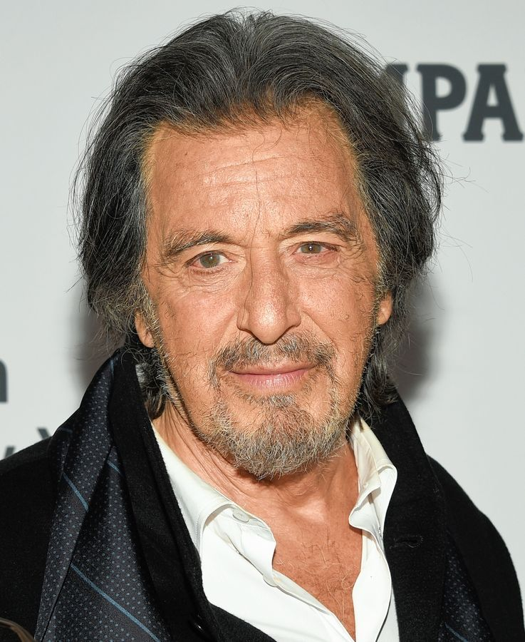 "Actor Al Pacino at the world premiere of ""The Irishman"" in September at the New York Film Festival."