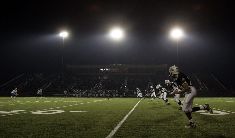 "The ""Friday Night Lights"" high school fall football tradition will be moved to next spring under rules announced by the Illinois High School Association."