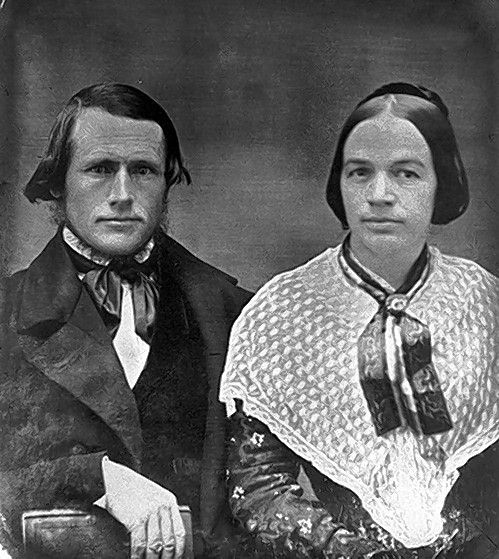 Augustus, a Des Plaines resident and antislavery pastor, and Betsey Conant. The Des Plaines History Center is hosting a virtual Coffee Talk about antislavery activism in Illinois on Thursday Dec. 10.