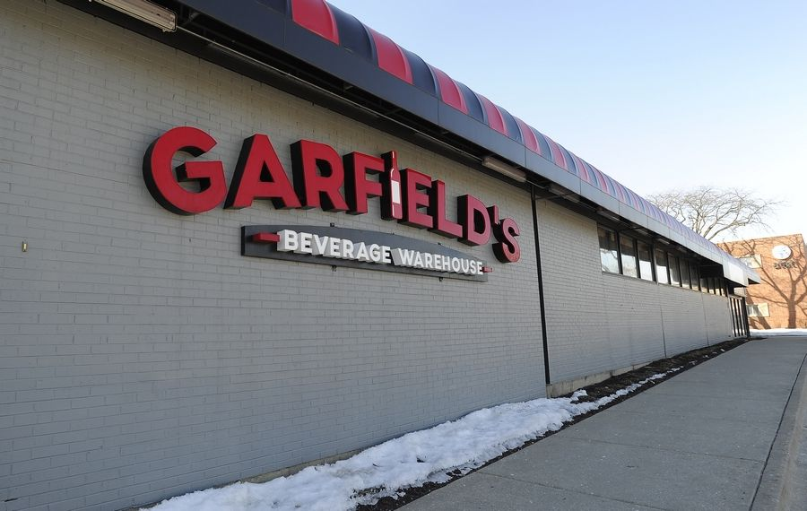 Garfield's Beverage Warehouse in Palatine is planning a renovation that will include adding a small bar area, pending new liquor license approval from the village.